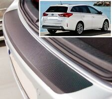 Toyota Auris Touring Sports - Carbon Style rear Bumper Protector