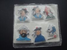 Small Collection of Tintin Stickers in their original packet - very rare