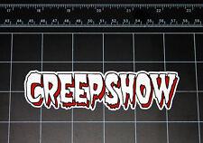 CREEPSHOW movie logo vinyl decal / sticker halloween comic horror 1980s 80s