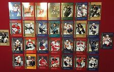 2008-09 Upper Deck Biography of a Season 30-card Hockey Set Crosby Stamkos