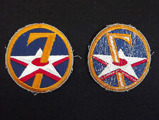 (A8-154) US Air Corps Patch 7th WWII Style Aufnäher Stoffabzeichen