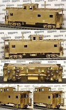 HO train ORIENTAL LIMITED Brass Caboose w/Coppola GREAT NORTHERN GN *nice*afol*