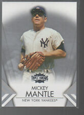 MICKEY MANTLE 2015 TOPPS TRIPLE THREADS CARD #7