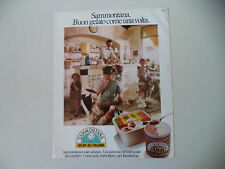 advertising Pubblicità 1981 GELATI SAMMONTANA