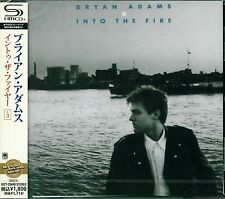 BRYAN ADAMS INTO THE FIRE 2013 JAPAN SHM RMST CD+3 - NEW/SEALED GIFT QUALITY!