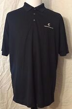 NEW Men's SIZE XL NIKE GOLF DRI-FIT Black Polo Shirt Columbia Management NWT