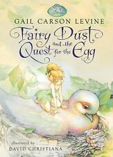 FAIRY DUST & QUEST FOR THE EGG Gail Carson Levine TINKERBELL PRILLA Peter Pan
