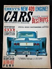 Cars Magazine May 1961 - Plymouth Fury - Customizing Section - Dodge Lancer