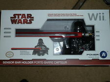 NINTENDO Wii U OFFICIAL SENSOR BAR HOLDER NEW! Star Wars Darth Vader Light Sabre