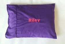 Personalized Toddler Pillowcase  Embroidered Monogrammed Travel Size Pillow case