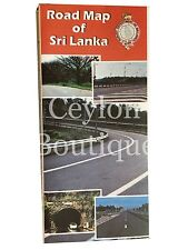 Sri Lanka Road Map Scale With 1:500,000 Published at 2015