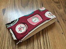 Handmade with Cath Kidston Clocks Fabric - Pencil/Make-Up/Glasses Case