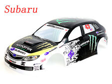 1/10 Painted RC Subaru Impreza WRC Body Shell A050