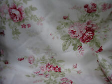VINTAGE DORMA FLORAL LINED CURTAINS, FAB CONDITION ROSE PRINT, Shabby, Botanical