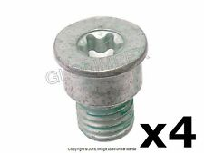 Porsche Cayenne FRONT and REAR L and R Brake Disc Set Screw Set of 4 GENUINE