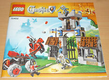 Lego Castle Bauplan für 70402, only instruction