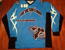 Blue Black and White Custom Graphic Paintball Jersey - Size XL  - NEW!