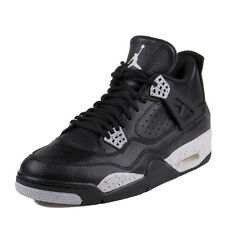 NIKE Men's AIR JORDAN 4 RETRO LS OREO Basketball Shoes Size 17 NEW 314254-003