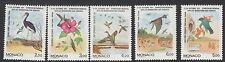 BIRDS:1991 MONACO Bird Migration  set SG2029-33 unmounted mint