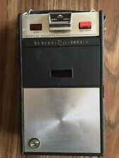 Vintage GE General Electric Cassette Tape Recorder Player model 8400 w/box paper
