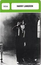 FICHE CINEMA :  HARRY LANGDON -  USA (Biographie/Filmographie)