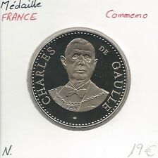 MEDAILLE Commémorative - CHARLES DE GAULLE - V République // Qualité: NEUVE