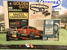 NMIB AURORA MoDEL MoToRING AFX Goldengate Bridge T Jet Slot Car Race Track Set