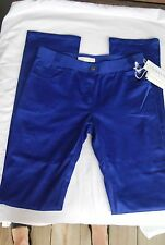 Valentino Royal blue cotton pants (jeans style) sz 8 NWT