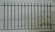 "44"" TRADITIONAL WROUGHT IRON METAL FENCING/RAILINGS PANEL RAILING"