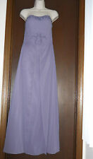 Alfred Angelo Strapless Mother Of Bride Dress Formal Gown Purple Lilac Sized 4