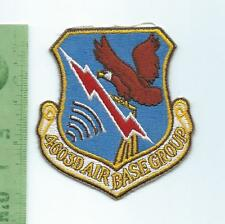 US Air Force USAF  4603rd Air Base Group  patch