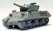 """Milicast BB186 1/76 Resin WWII M10A1 3"""" SP(Late)NO Bolt Hull/Turret+DuckbillWgts"""