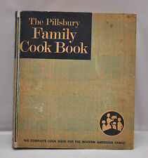 VTG Pillsbury Family Cookbook 1963 Ringed Binder recipe book hard cover