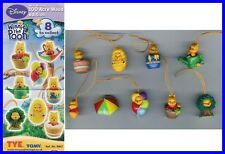 SET 8 Figure WINNIE POOH 100 ACRE Mini Winnies Figures Peek a Pooh TOMY Figures