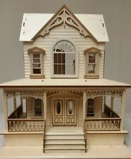 Little Briana Country Victrorian Cottage 1:24 Scale Dollhouse NO Shingles