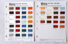 1985 FORD TRUCK SHERWIN WILLIAMS COLOR PAINT CHIP CHART ALL MODELS ORIGINAL