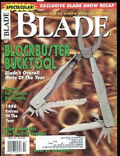 Blade Magazine October 1996 Bucktool EX w/ML 012417jhe