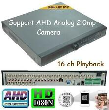 Sunvision CCTV 32 Ch AHD 1080N Network DVR for IP/AHD/Analog Cameras w/ no HDD
