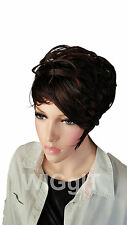 ALI   RED/BLACK/BLONDE   SHORT   CURLY/STRAIGHT   SYNTHETIC WIG   BOBBI BOSS