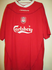 Liverpool 2002-2003 Home Football Shirt Size Large Toombs /34976