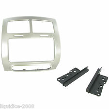CT23TY27 TOYOTA URBAN CRUISER 2009 ONWARDS SILVER DOUBLE DIN FASCIA FACIA PANEL