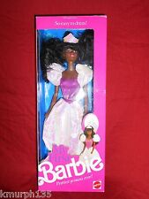 1989 MY FIRST BARBIE DOLL PRETTIEST PRINCESS EVER! AFRICAN AMERICAN NRFB