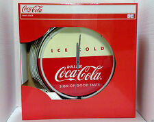 Neon Coca Cola Clock NEW