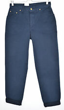 NEW Vintage Lee VIRGINIA High Waisted Tapered Blue Mom Jeans Size 12 W30 L31