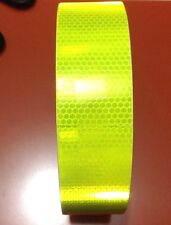 """2""""X10' 3m Fluorescence Yellow Reflective Safety Warning Conspicuity Tape"""