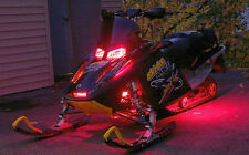 14PC SKIDOO POLARIS YAMAHA ARCTIC CAT LED SNOWMOBILE LIGHT KIT w REMOTE CONTROL