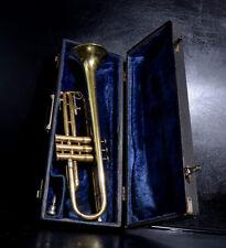 Olds Ambassador Fullerton California Vintage Bb trumpet+Org. Old Case&Mouthpiece