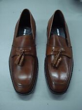 NIB Men's Johnston & Murphy Slip On Leather Loafer Shoes Size 8.5 M Brown #260J