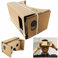 VR CARDBOARD VIRTUAL REALITY 3D GLASSES GOGGLES FOR IPHONES ANDROID SMART PHONES