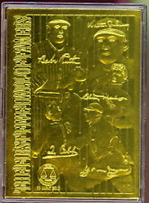 AMERICAN LEGENDS BASEBALL HALL OF FAMERS 1999 CMG GOLD CARD IN ORIGINAL BOX SP